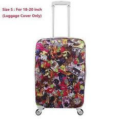 New Luggage Cover Protector Suitcase Bag Coffee Cover Fits 30 Inch Bags