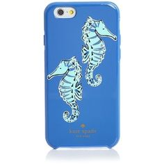 kate spade new york Jeweled Seahorse iPhone 6/6s Case