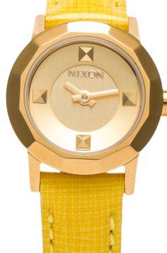 THE MINI B yellow watch Nixon