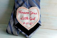 Father of the Bride Gift.  Father of the Bride by sewhappygirls, $35.00