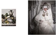 Decadent Victorian Editorials - Royalty Reigns With Paco Peregrin for White Sposa (GALLERY)