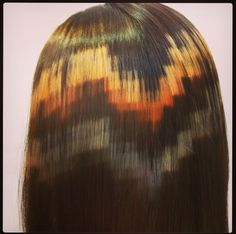 """#xpresionpixel Hair colouring technique from X-Presion produces digital pixelated style - via Estetica Magazine: """" After months of research, X-Presion developed #xpresionpixel, a revolutionary color..."""