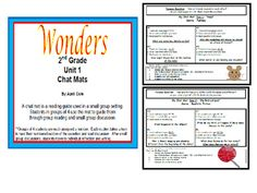 This file contains guided reading pages for 2nd grade WONDERS Unit 1 stories…