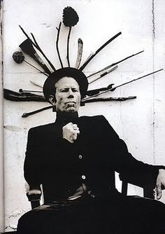 Tom Waits is the person Heath Ledger's Joker was based on. He's also one of the most talented singer/songwriters in the world. With a voice like gravel that's been set on fire.