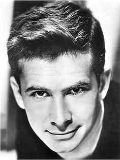 "Anthony Perkins- known best for his role as Norman Bates, in ""Psycho"" Anthony Perkins, Hollywood Men, Hollywood Stars, Classic Hollywood, Norman Bates, Boy Best Friend, Cute Gay Couples, Star Wars, We The People"