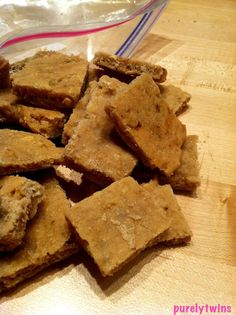 Gluten Free Chewy Dog Treat Recipe..My dog is going to love me!!!