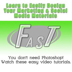Learn to design your own graphics fast and easy without Photoshop stress