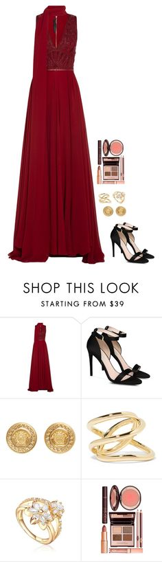 """Untitled #664"" by h1234l on Polyvore featuring Elie Saab, STELLA McCARTNEY, Versace, Jennifer Fisher and Charlotte Tilbury"