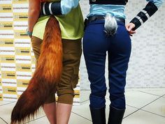 These Zootopia Judy Hopps And Nick Wilde Cosplays are Perfect!