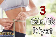 3 günlük diyet listesi