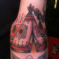 Great Tipi Tattoo