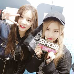 (g)i-dle yuqi & soyeon Kpop Girl Groups, Korean Girl Groups, Kpop Girls, Snsd, Lee Sun, Soo Jin, Bias Kpop, Wattpad, Pretty Asian