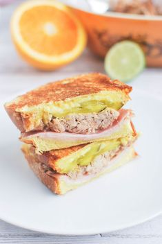 Cuban Sandwich - one of the best sandwiches ever!