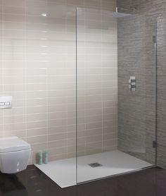Ensuite - walkin shower TEN Single Fixed Panel in Ten Bathroom Shower Panels, Steam Showers Bathroom, Glass Shower, Shower Rooms, Shower In Bath, Wet Room Shower Screens, Frameless Shower, Bathroom Design Small, Bathroom Layout