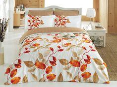 Lenjerie de pat Satin Fadek V1 Orange #homedecor #interiordesign #autumn #colors #decor #design Satin, Home Textile, Decoration, Comforters, Orange, Blanket, Bedroom, Bead, Design Ideas