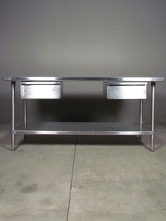 Kitchen Island Table Weve Had This For A Few Years And This Is - 6 foot stainless steel prep table