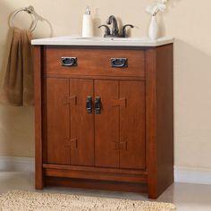 "Bathroom Mirrors Essex magick woods 25"" essex vanity ensemble at menards®   bathroom"