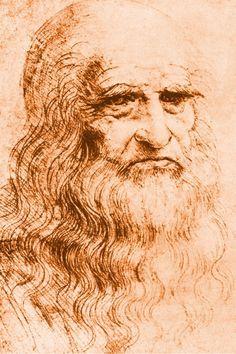 Leonardo da Vinci self portrait Leonardo Da Vinci Biography, Facial Hair Transplant, Da Vinci Inventions, Giuseppe Arcimboldo, Magnum Opus, Paul Gauguin, Beard No Mustache, Michelangelo, Vincent Van Gogh