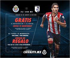 CHIVAS TV DA PARTIDO ANTE GALLOS GRATIS A ABONADOS Quienes tengan la temporada completa contratada tendrán un código sin costo para otro usuario.