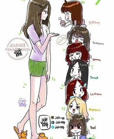 Image discovered by S♡Ha. Find images and videos about kpop, art and snsd on We Heart It - the app to get lost in what you love. Snsd, Sooyoung, Yoona, Kpop Girl Groups, Korean Girl Groups, Kpop Girls, Yuri, Girl's Generation, Twice Fanart