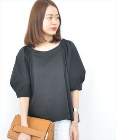 none Dressy Tops, Clothes 2018, Diy Clothes, Western Outfits, Japan Fashion, Linen Dresses, Blouse Styles, Summer Tops, Cute Tops