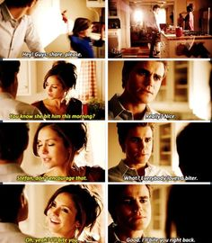 Wow Stefan Elena were so adorable here! I really wish they had lived their human happy ever after :(