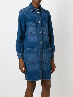 Stella McCartney denim shirt dress from Farfetch, the perfect go to for relaxed summer days and an easy transitional piece into autumn