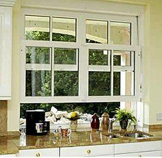 Durchreiche Fenster Küche