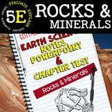 Rocks & Minerals: Earth Science Notes, PowerPoint & Chapte