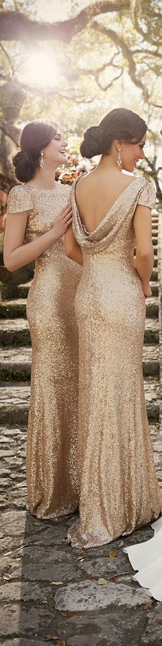 Gold dress for 50th anniversary pictures