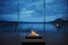Bruciatore per camino a bioetanolo By EcoSmart Fire Outdoor Decor, Estate Furniture, Luxury Outdoor Furniture, Outdoor Furnishings, Freestanding Fireplace, Lounge Furniture, Garden Furniture, Patio Lounge, Standing Fireplace