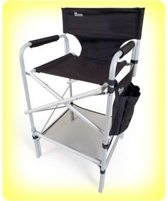 Tall Directors Chair Folding Camping Indoor Outdoor Director Portable  Aluminum #TallDirectorsChair | Ideas For Home And Garden | Pinterest |  Indoor Outdoor ...