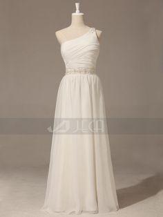 3c2adf7824c Grecian Goddess Wedding Dress For An Outdoor Or Beach by Jecadress