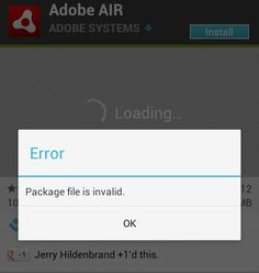 """It sometime happens, you are trying to install an app or a heavy game on your droid and suddenly you are stuck up with a problem """"Package file is invalid"""". Though it is not a common problem but many Android users are facing this problem now-a-days particularly when they are installing the app via Wifi. Let's have a look on how to fix Package file is invalid error on Google Play Store :"""