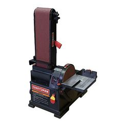Craftsman band saw make every cut count with sears tools craftsman belt disc sander bench top 4 x 36 in belt and 6 in keyboard keysfo Gallery