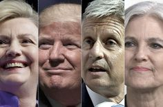 Grading the Presidential Candidates on Science. Scientific American evaluates responses from Clinton, Trump, Johnson and Stein to 20 questions. Surprise, surprise, Hillary gave the best answers and Donald gave the worst.