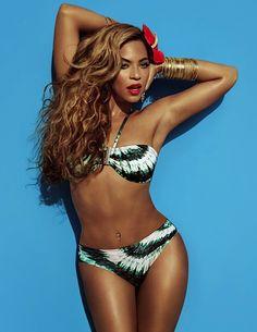 Beyoncé H Swimsuit Campaign