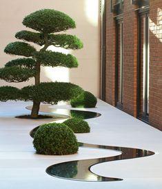 43 Creative Side Yard Garden Design Ideas For Summer Japanese Garden Design, Modern Garden Design, Modern Landscaping, Outdoor Landscaping, Landscape Architecture, Landscape Design, Indoor Garden, Home And Garden, Tom Stuart Smith