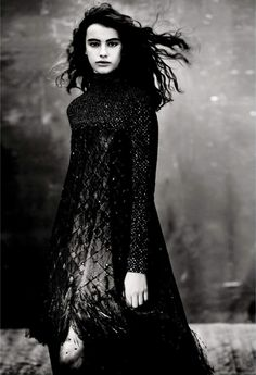 """Luz Sanchez in """"Individuallure"""" by Paolo Roversi for Vogue Italia September 2015."""