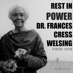 Dr frances cress welsing on sex