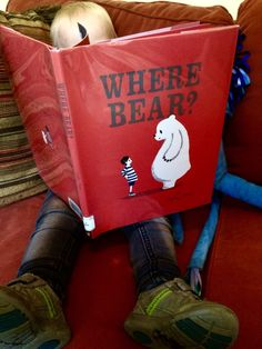 Where Bear? – Homegrown Reader  this toddler gem is a simple and adorable story of about a boy and his bear searching for a home.