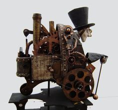 Automaton figure by Imps and Things - http://impsandthings.blogspot.com/
