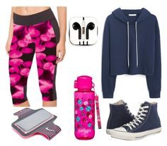 """Untitled #159"" by anaj-7 on Polyvore featuring MANGO, Converse, PhunkeeTree and NIKE"