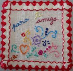 For a friend. Portuguese embroidery