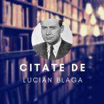 Citate de Lucian Blaga Baseball Cards