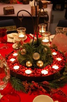More Christmas tablescape ideas