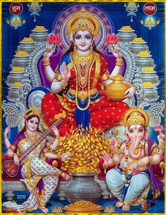 Durga Images, Lakshmi Images, Lord Krishna Images, Saraswati Goddess, Shiva Shakti, Goddess Art, Hindus, Radha Krishna Holi, Krishna Art
