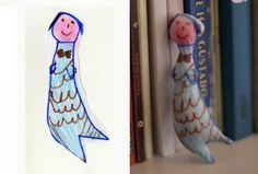 子どもの絵を3Dにするサーヴィス  「CrayonCreatures」(WIRED)