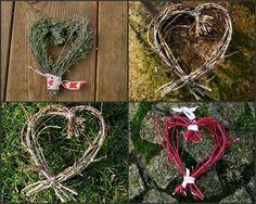 Valentine DIY - Tuto Cœur de branches