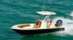 Scout Boat with Yamaha outboard!
